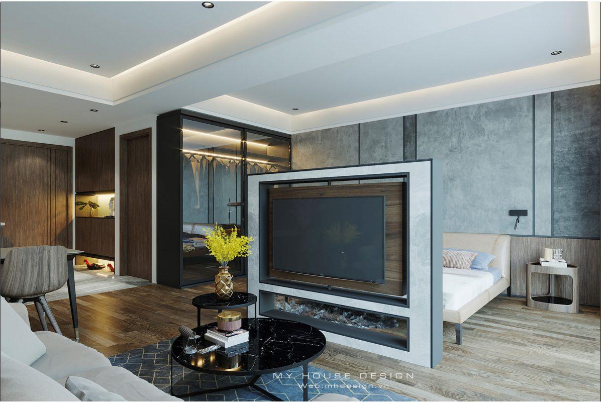 Thiết kế căn hộ Studio đẹp như mơ tại Vinhomes