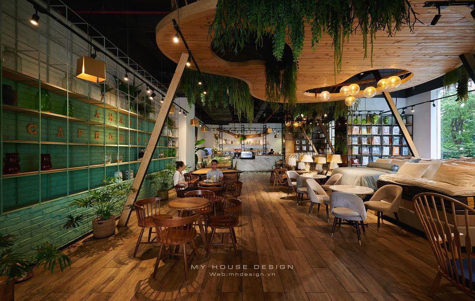 Thiết kế quán cafe đồng quê giữa lòng Hà Nội – Amara
