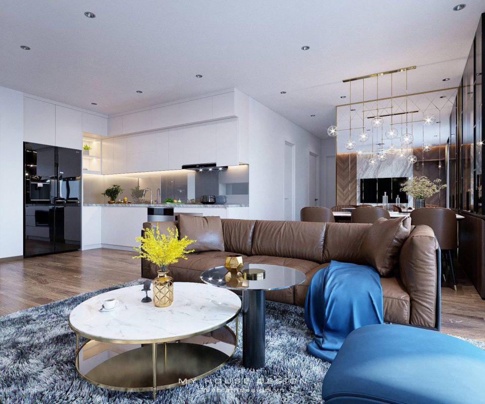 Thiết kế nội thất chung cư cao cấp TSQ HaTay Millennium