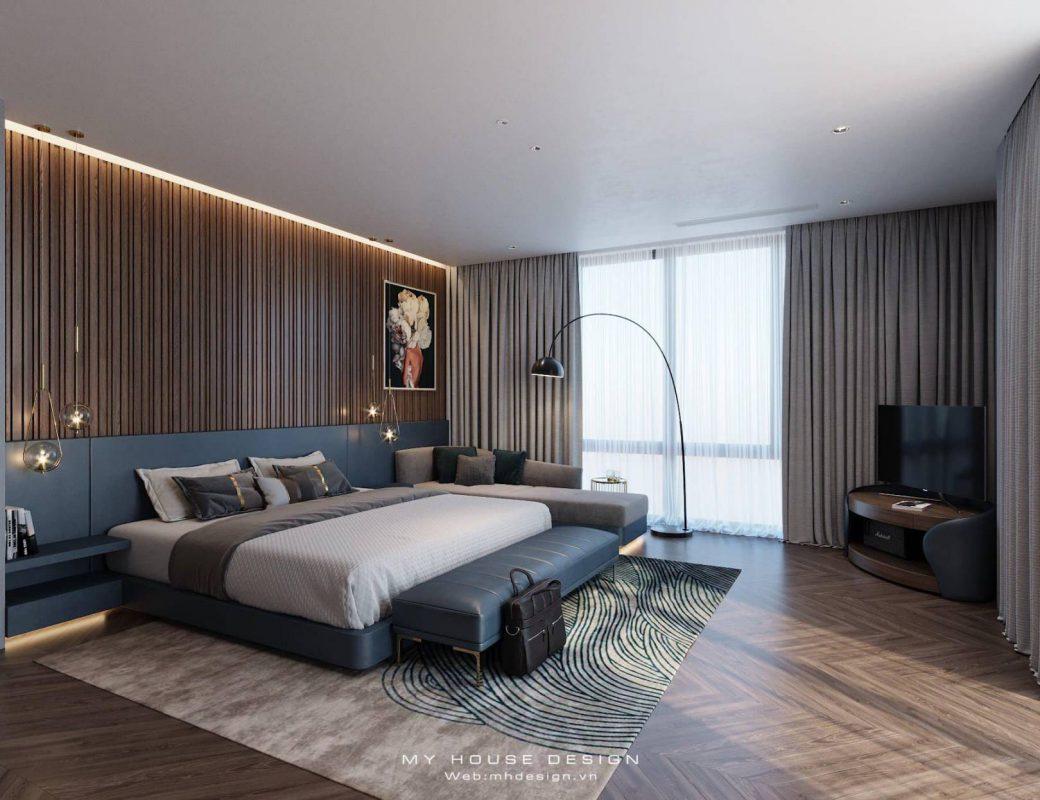 Những mẫu thiết kế phòng ngủ biệt thự hiện đại đẹp nhất