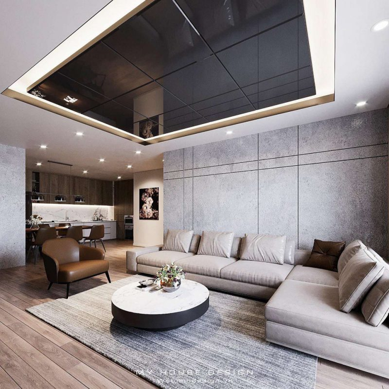 Thiết kế căn hộ cao cấp  3 phòng ngủ tại Goldmark City