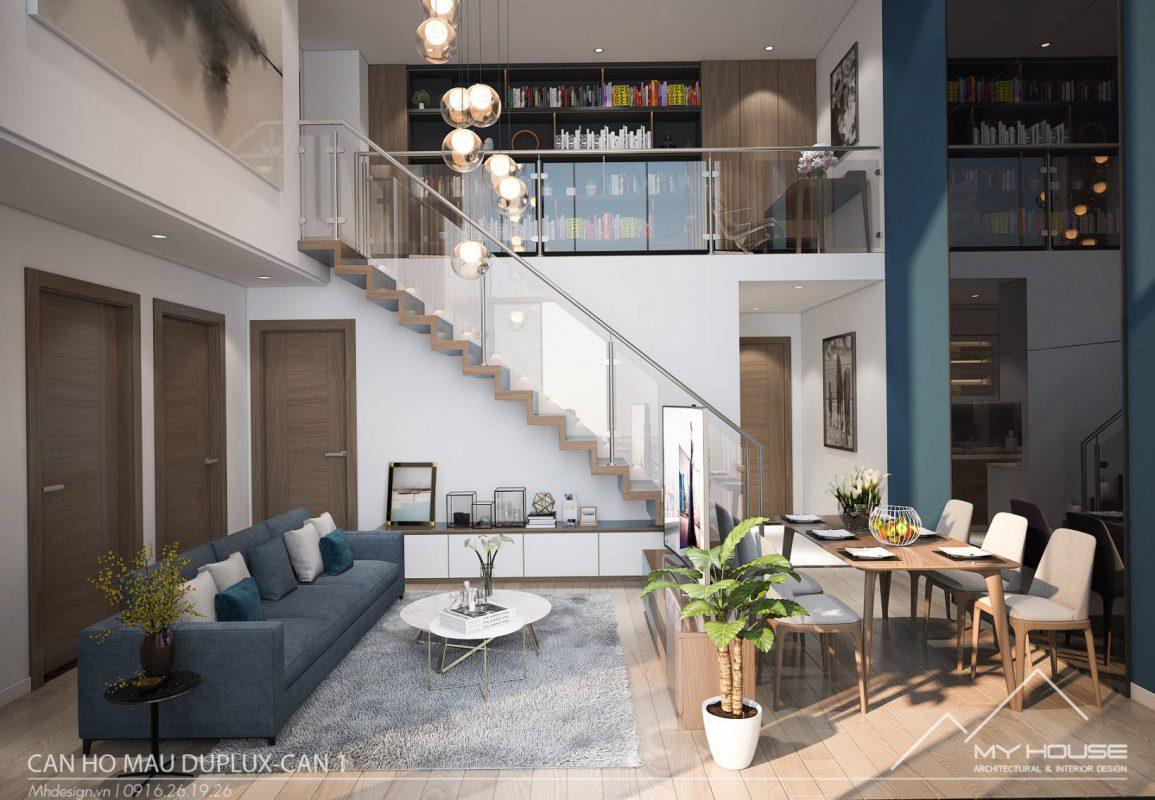 Thiết kế căn hộ Duplux chất lượng và cá tính nhất