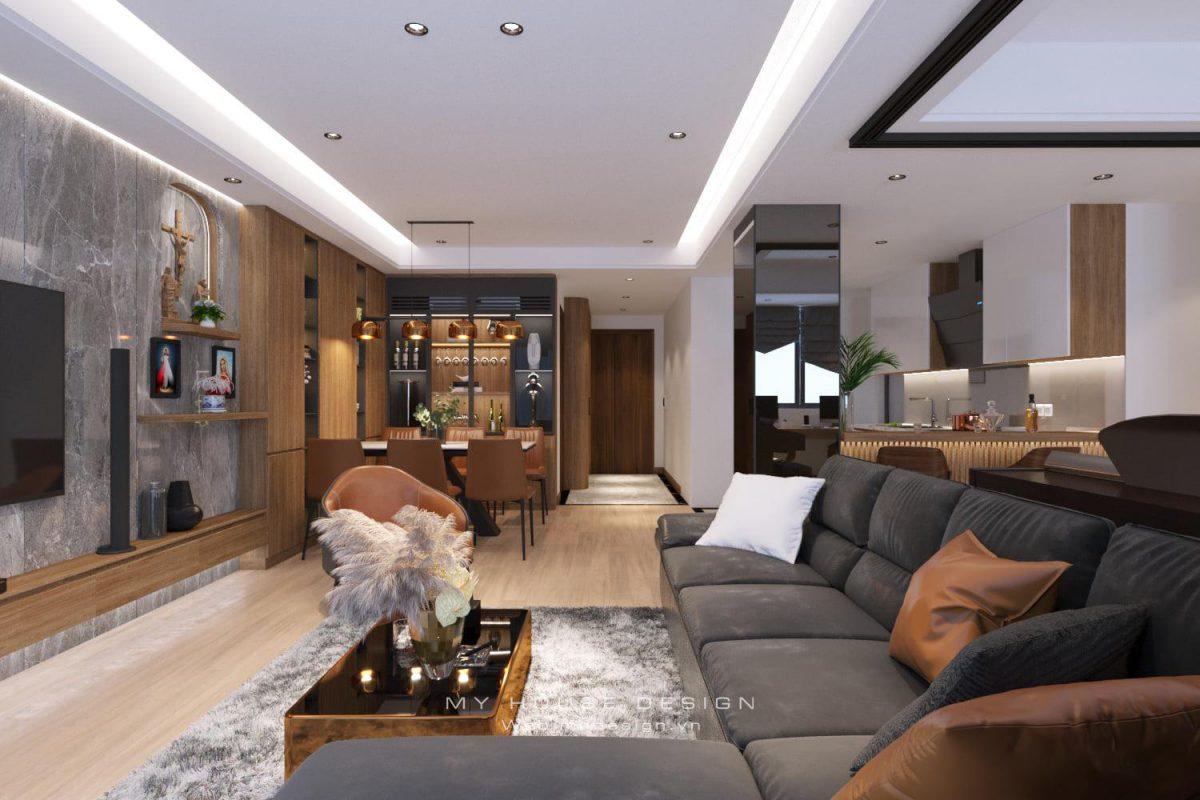 My House tư vấn thiết kế nội thất chung cư Iris Garden