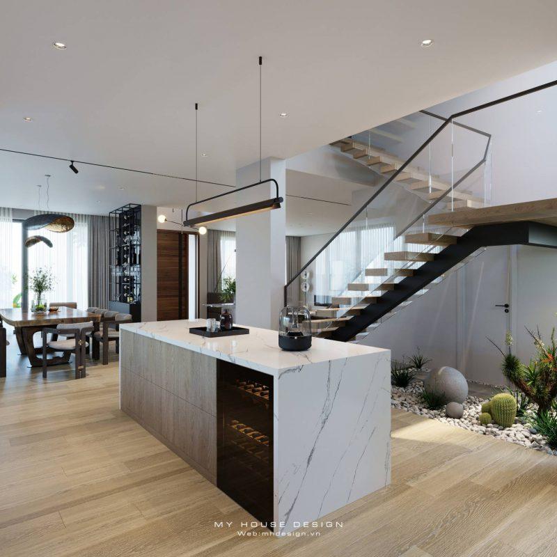 Đôi nét về phong cách thiết kế nội thất biệt thự hiện đại sang trọng