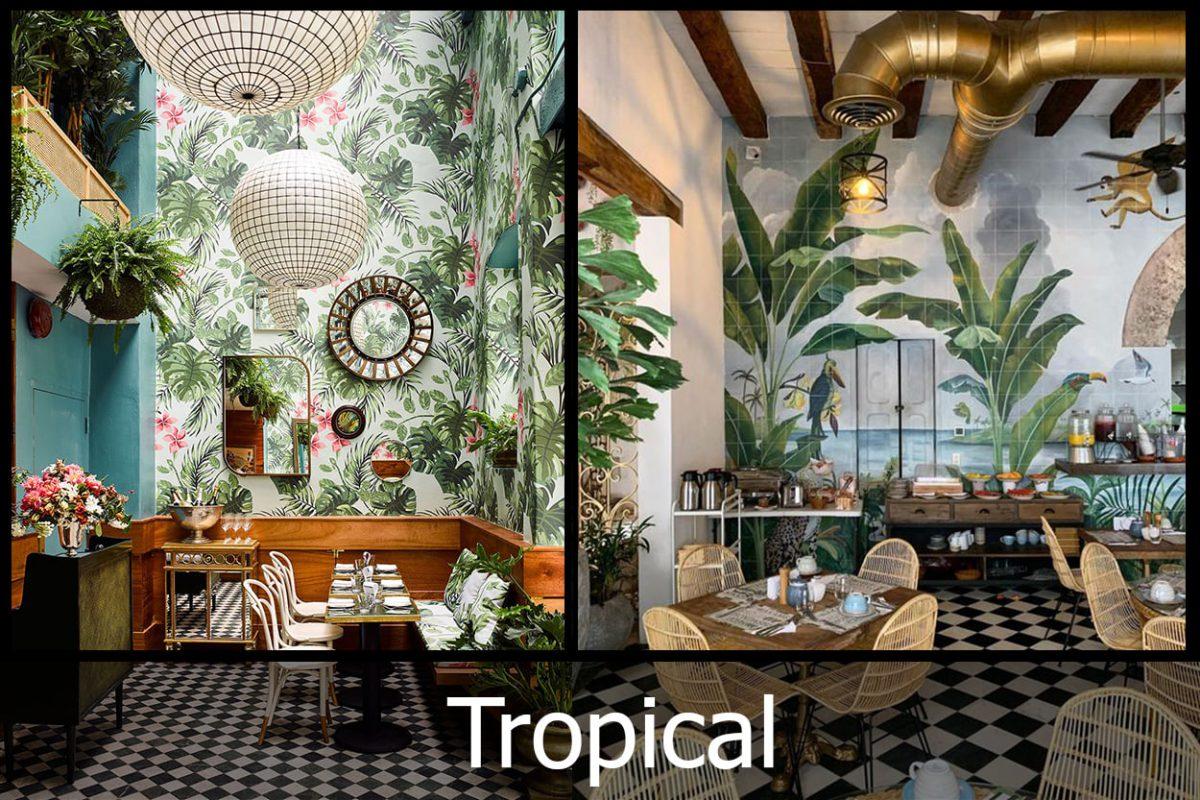 Những đặc trưng làm nên sự thú vị của nội thất phong cách Tropical