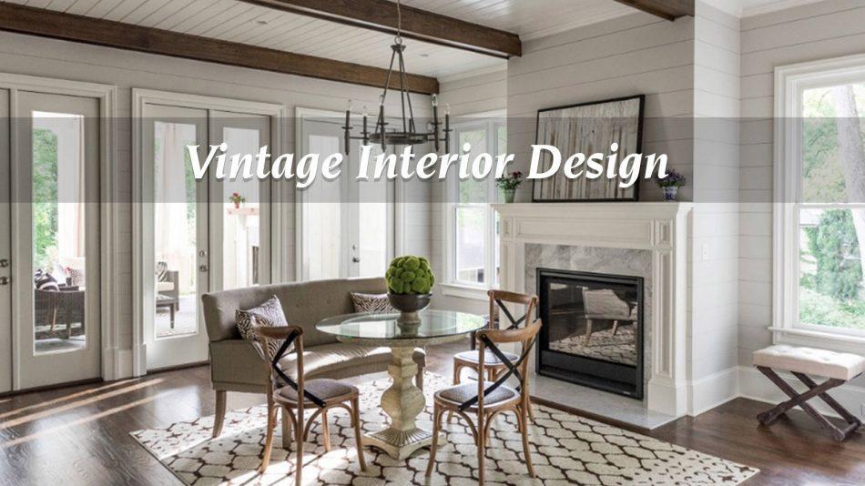 Thiết kế biệt thự phong cách Vintage mang đậm dấu ấn thời gian